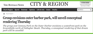 Follow the latest on The Outer Harbor Park